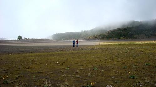 Tourists en route to the Irazu Volcano in Costa Rica