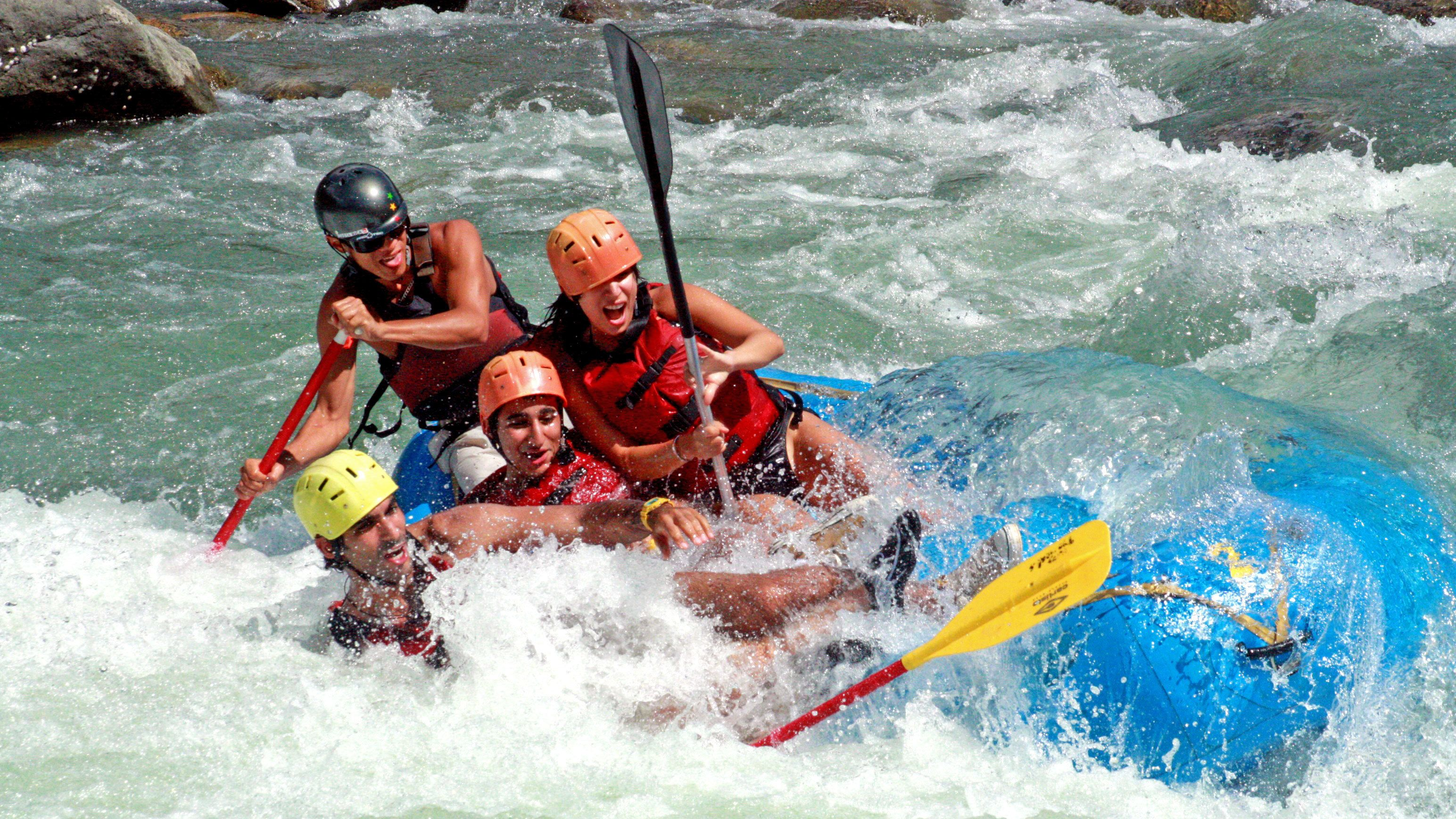 Whitewater Rafting on the Savegre River with Lunch