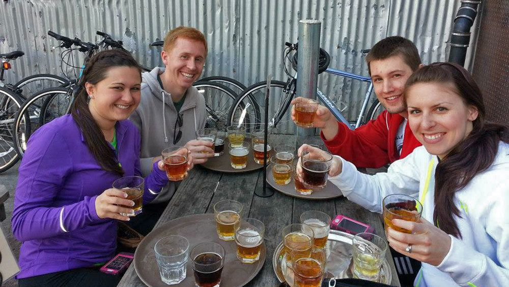 Beers & Bikes Tour with Alcatraz Admission