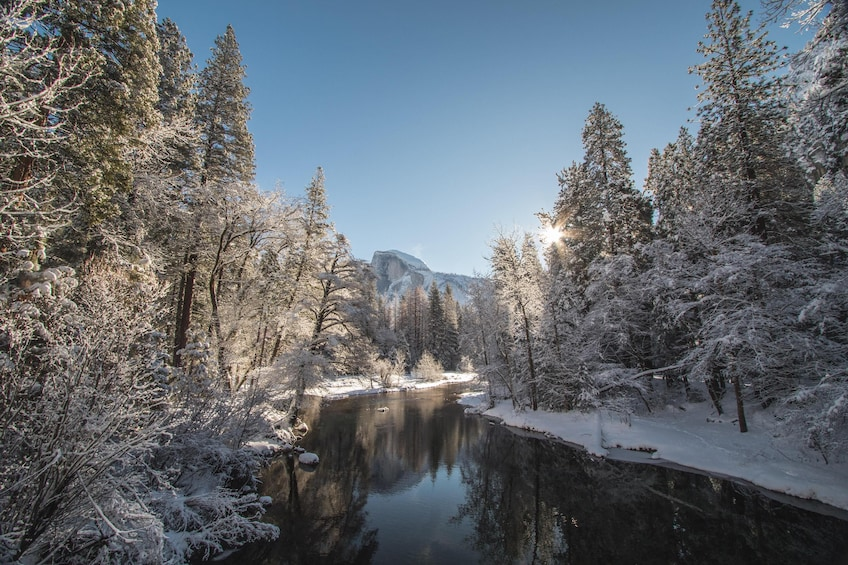 Show item 3 of 10. Yosemite National Park Winter Hotel Tour (2 Days)