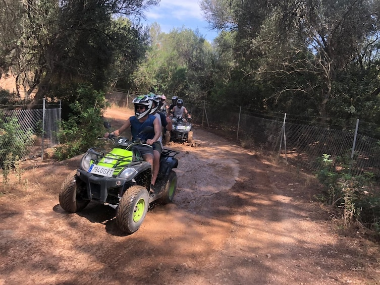 Quad Bike Tour of South Mallorca from El Arenal