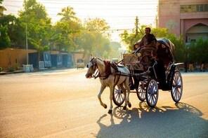 Half-Day Karachi Burns Road Private Victoria Ride with Dinner