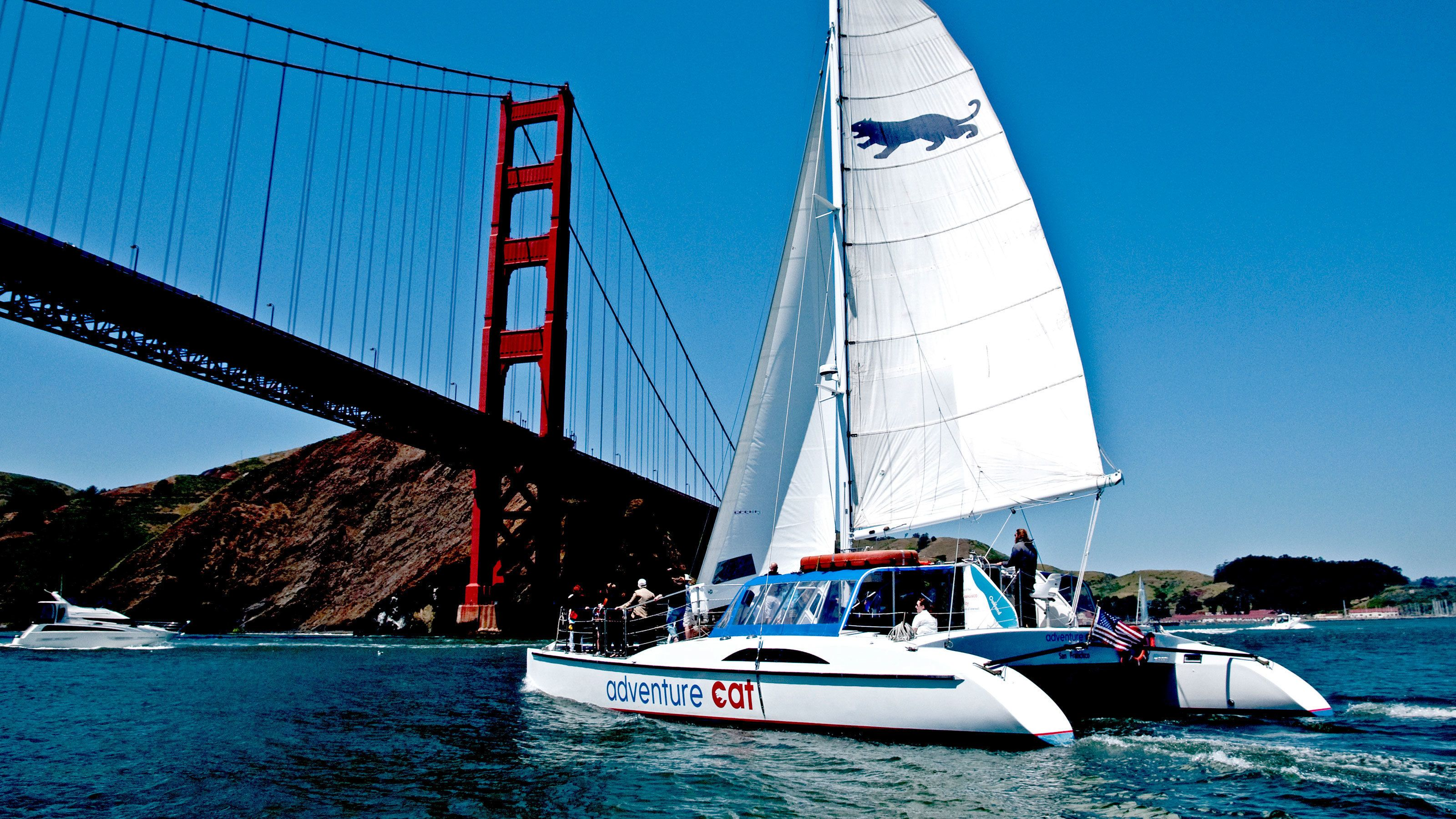Catamaran Sailing Cruise on the Bay