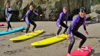 Beginner Surfing Lessons - San Francisco (Pacifica Beach)