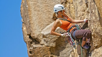 Beginner Rock Climbing Lesson