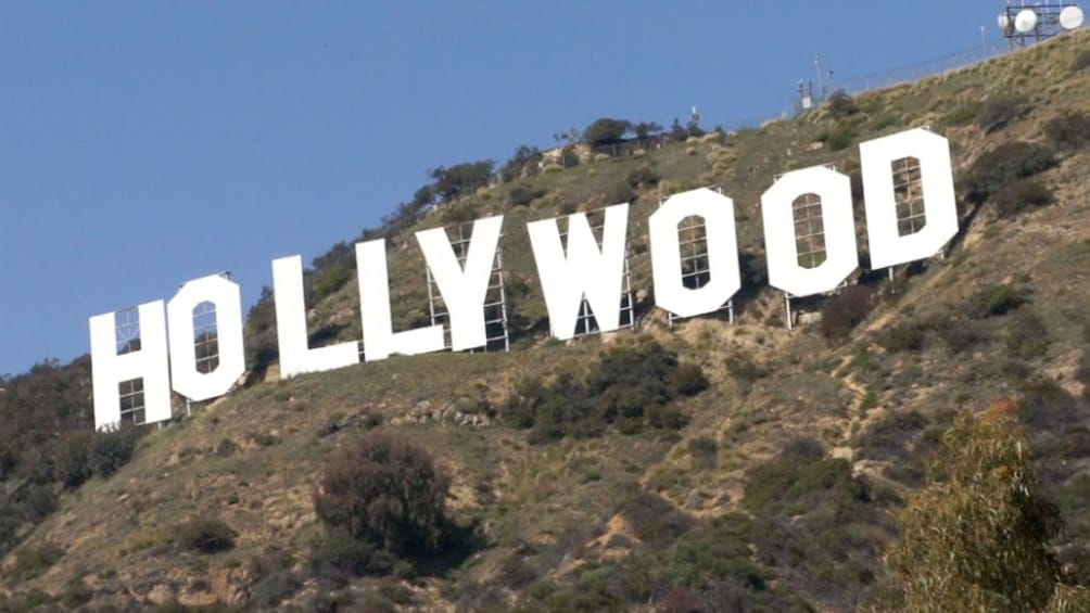 Show item 3 of 10. Hollywood sign in Los Amgeles