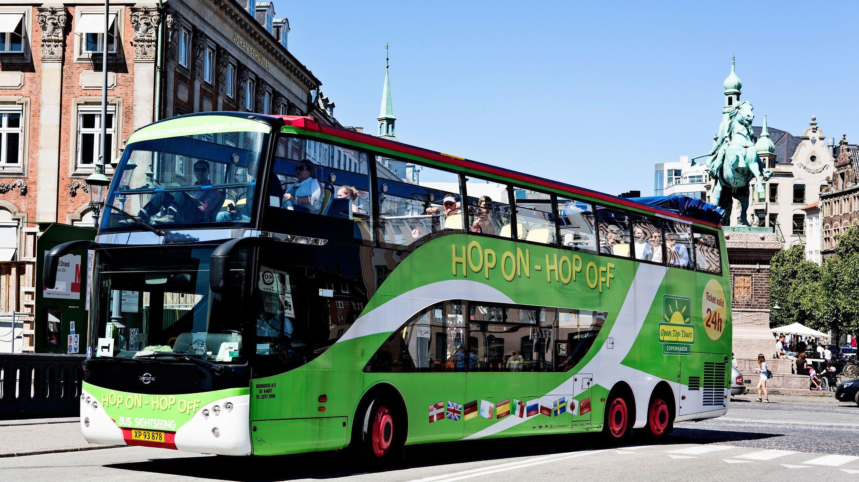 Busstur med hop-on/hop-off i Köpenhamn