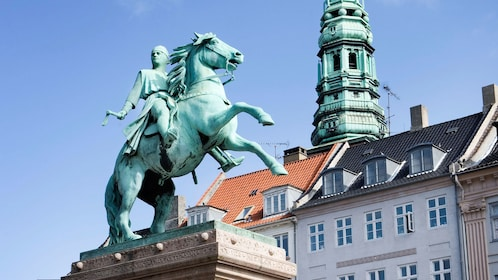 Bronze statue in Copenhagen