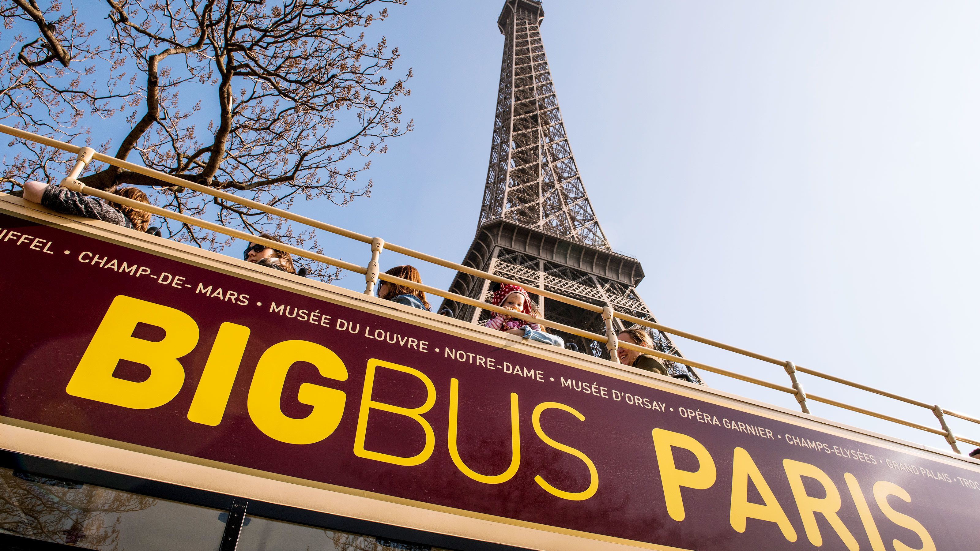 Paris Hop-On Hop-Off Bus Tour
