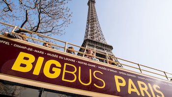 Hop-on, hop-off-bustour door Parijs