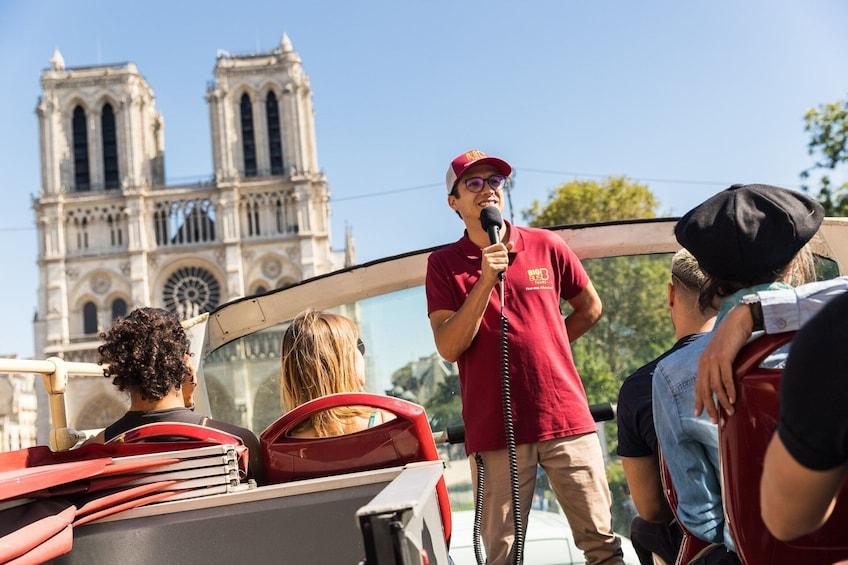 Show item 2 of 15. Paris Hop-On Hop-Off Bus Tour