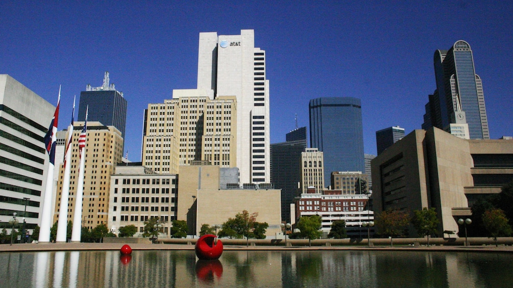 Show item 5 of 5. Dallas skyline in the afternoon
