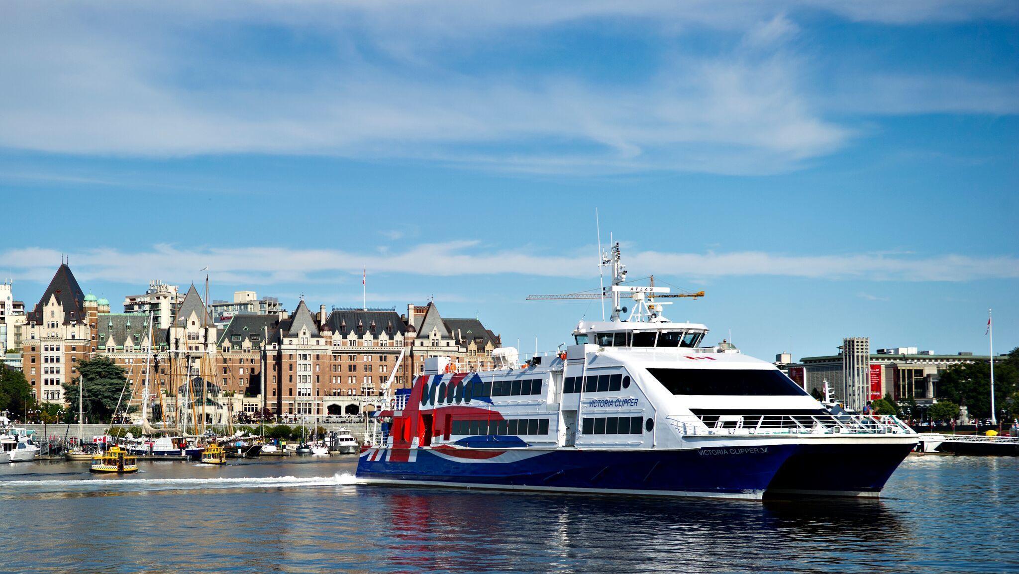 Victoria to Seattle High Speed Passenger Ferry