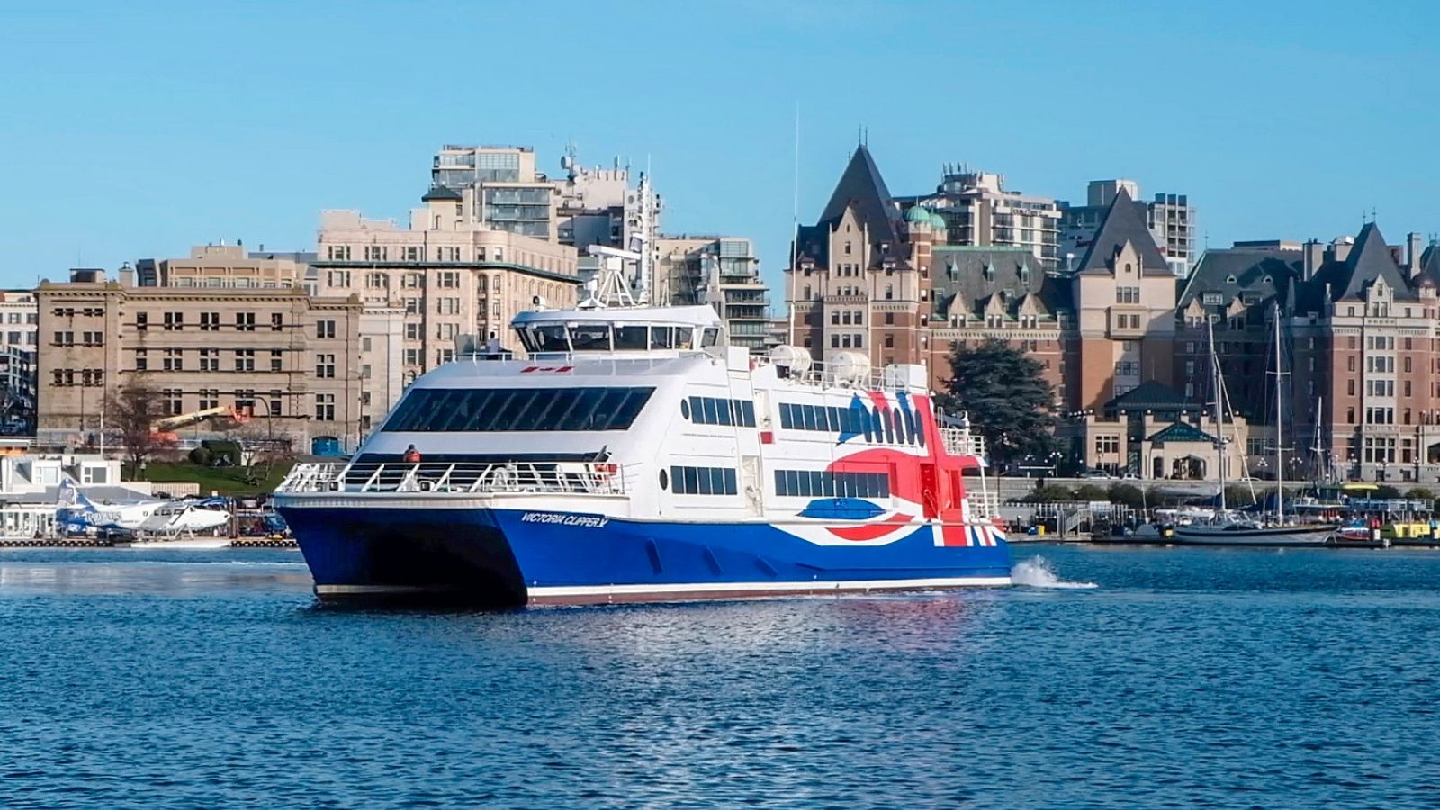 Victoria to Seattle High Speed Passenger Ferry