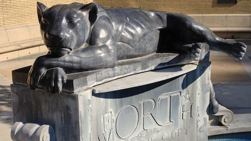 Panther City Fountain in Fort Worth, Texas