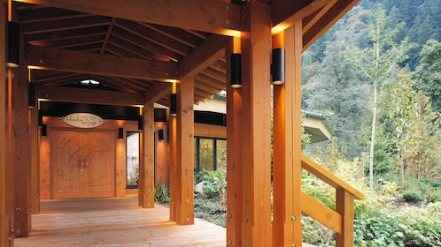 Spa nestled in the woods in Vancouver