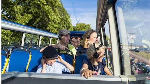 Hop-On Hop-Off bus with family in Helsinki