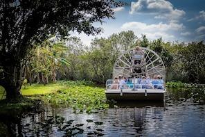 Avventura in idroscivolante nelle Everglades e crociera nella baia di Bisca...