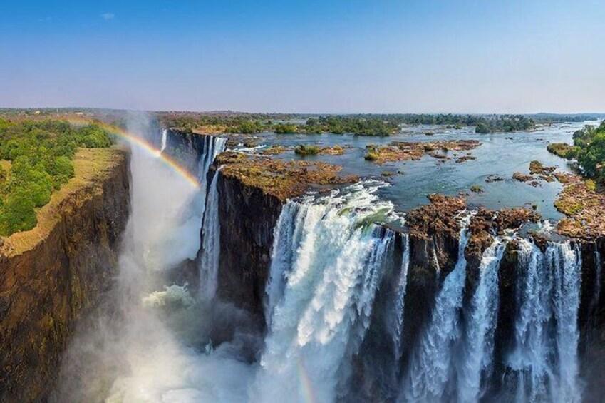 Show item 4 of 7. Victoria Falls