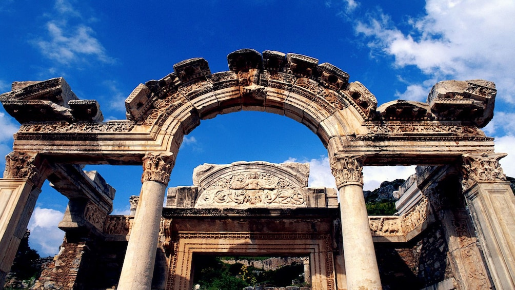 Show item 8 of 8. Ancient ruins in Ephesus
