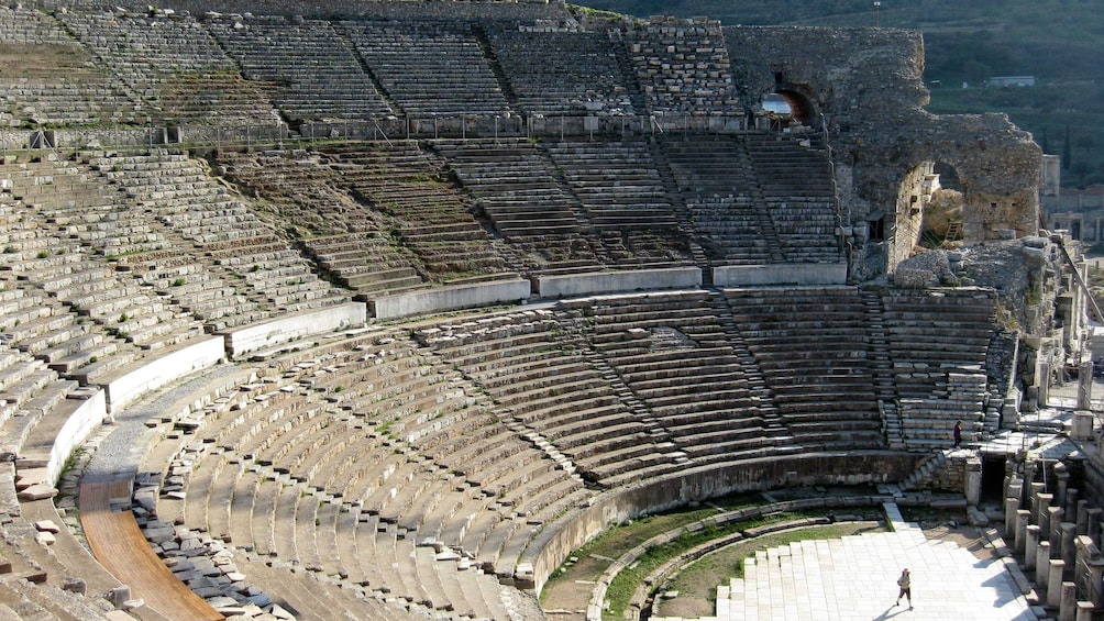 Show item 5 of 8. Ancient Greek theater in Ephesus