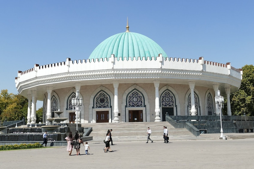 Show item 3 of 10. Tashkent Private Walking Tour with Professional Guide