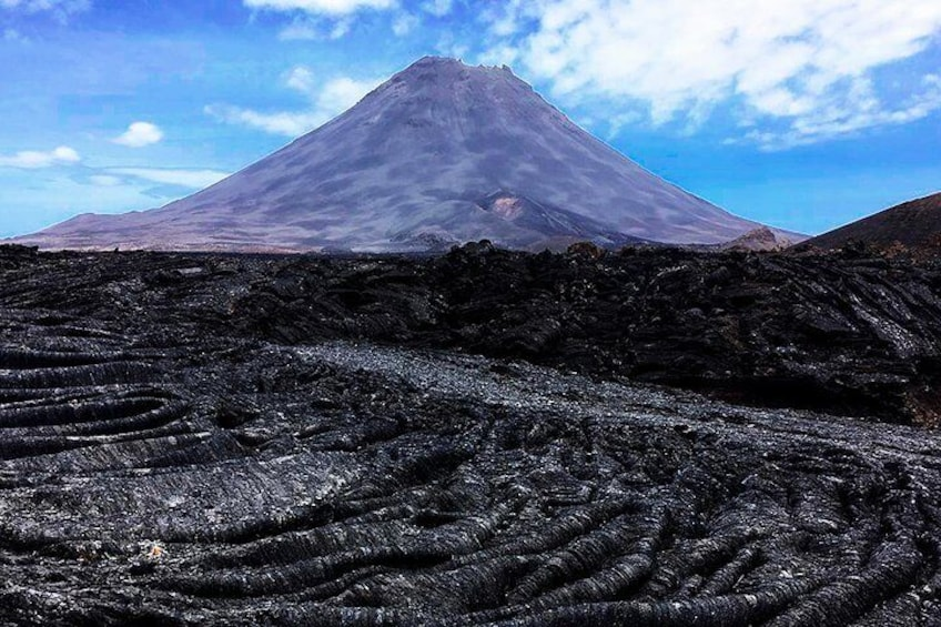 Show item 5 of 8. Fogo Island: Hike to the peak of the Vulcano (2829 m)