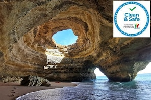 Kayaking in Secret Algarve Benagil Caves
