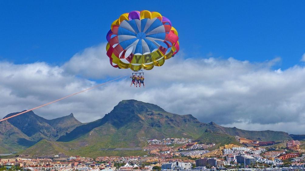 Scenic parascending in Spain