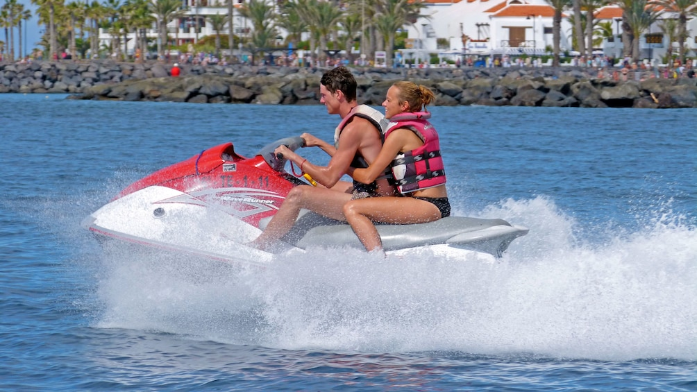 Show item 2 of 5. Speedy jet ski in Spain