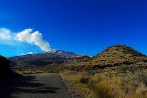 Snowy Ruiz + Hot Springs from Manizales