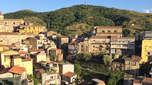 Hillside town of Taormina