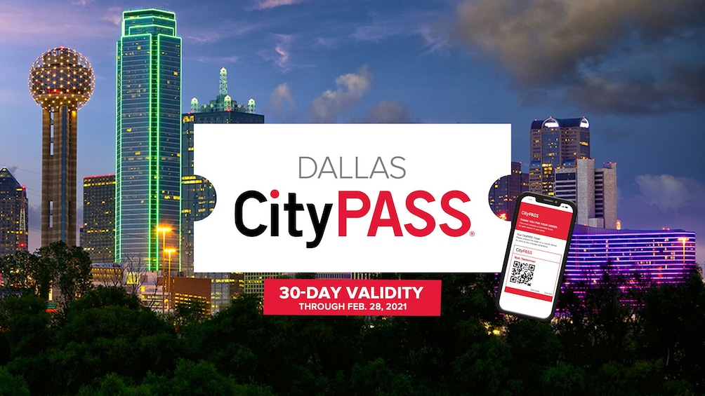 Show item 1 of 10. Dallas CityPASS: Admission to Top 4 Dallas Attractions