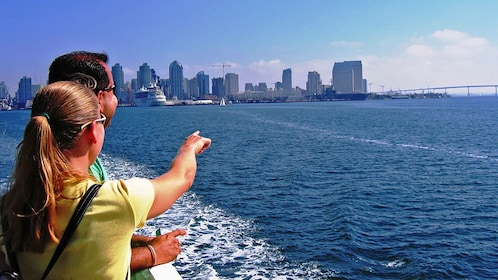city view on cruise in San Diego California