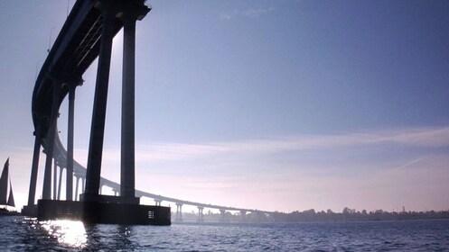 bridge view on cruise in San Diego California