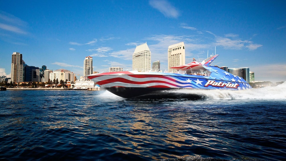 Show item 1 of 5. patriot boat for cruise in san diego california