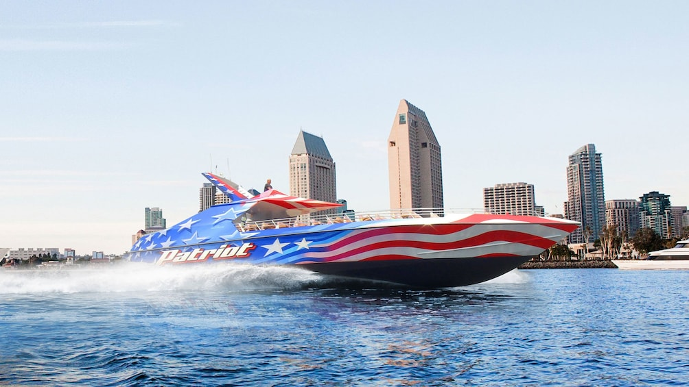 Show item 4 of 5. patriot boat for cruise in san diego california