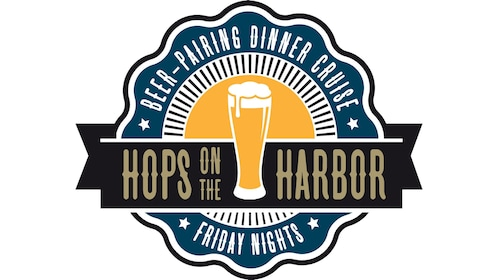 Logo for Hops on the Harbor cruise in San Diego California