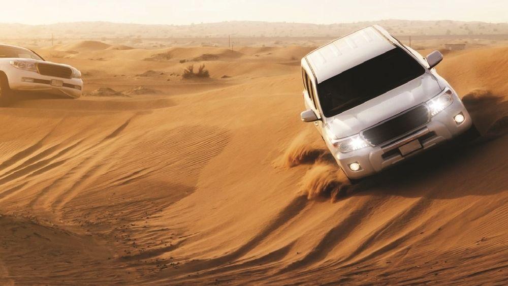 Desert Safari with BBQ Dinner in Abu Dhabi