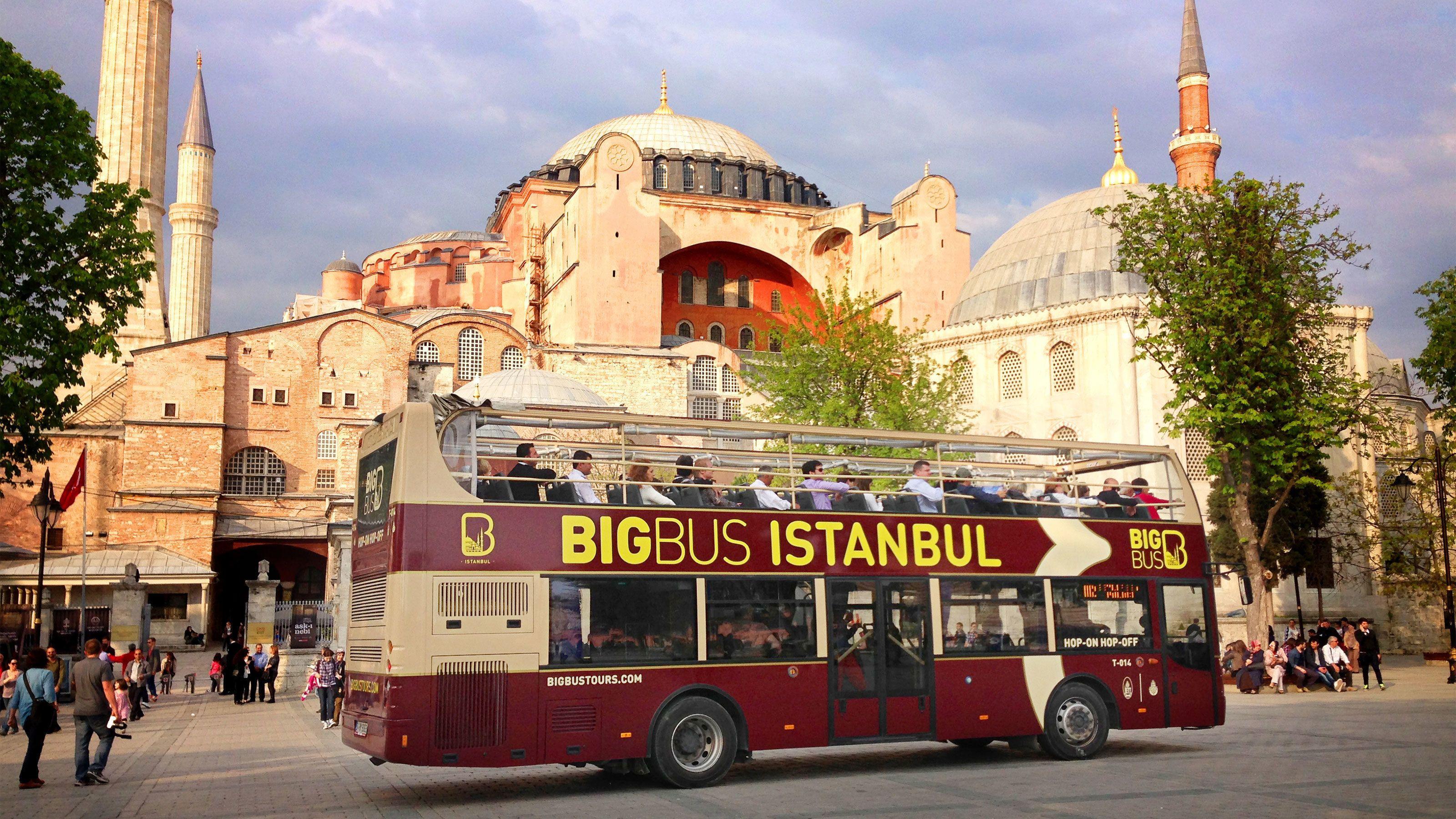 Istanbul Hop-On Hop-Off Bus Tour