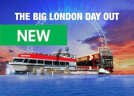 London Hop-On Hop-Off Tour med London Eye & Cruise Option