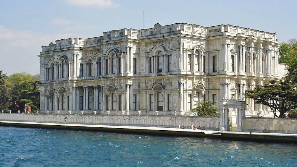 Show item 1 of 7. The Beylerbeyi Palace in Istanbul