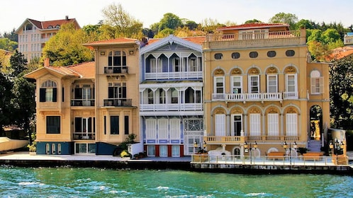 Residential apartments along the waters of Istanbul