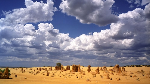 Rock formations in the desert in Australia