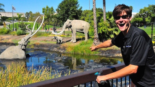 La Brea Tar Pits on Segway Tour in Los Angeles