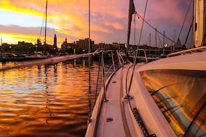 Sunset Sailing Experience From Port Vell Small-Group