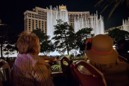 Las Vegas Panoramic Bus Night Tour plus Fremont Street Tour