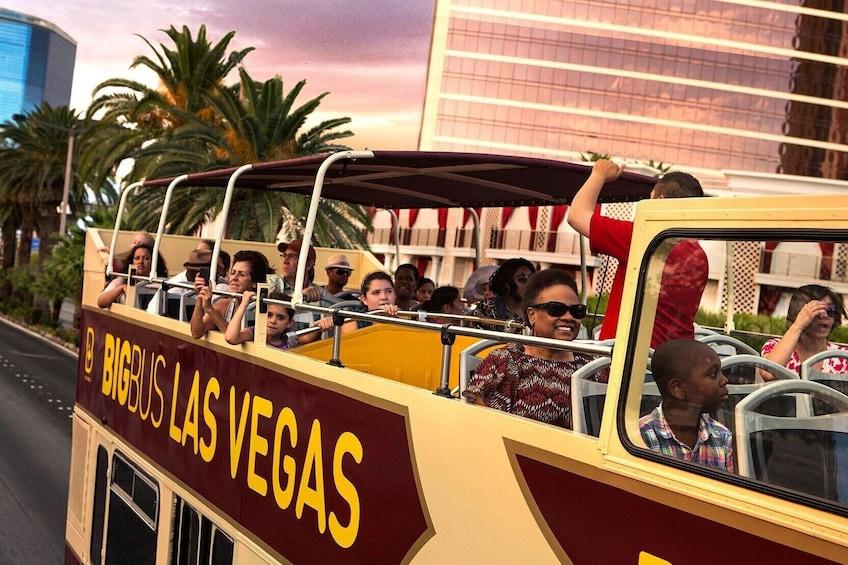 Show item 3 of 14. Las Vegas Panoramic Night Bus Tour