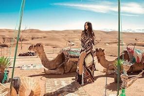 Marrakech: dinner in the Agafay desert and Camel ride