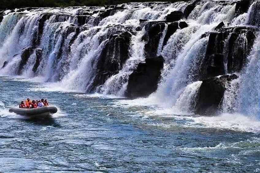 Show item 1 of 6. Day trip to Mocona Falls and Salto Encantado Provincial Park